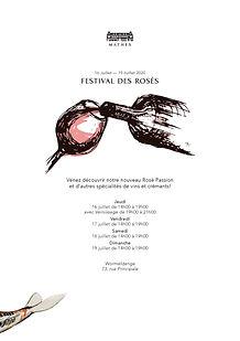 Festival des Rosés Domaine Mathes
