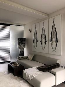 Koi interieur toile