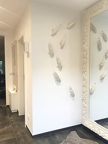 Koi interieur porcelaine