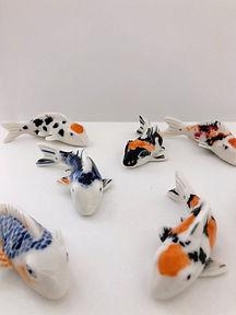 petits kois en porcelaine (lace me)