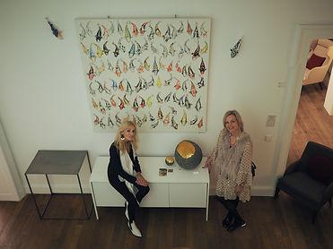 Marie-France Philipps et Nicole Krikor