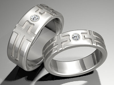 Wedding Rings and Engagement Rings by Furthers Christian Wedding