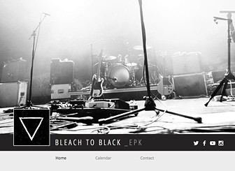 EPK - Musicians  Template - Promote your band with this one page, professional and organized Electronic Press Kit (EPK) template. Easy to customize, simply upload your own tracks, video and biography. You can also add any upcoming tour dates and upload set lists and riders for the press to view. Share your EPK with selective people, by password protecting your finished site. Start editing now to get your band out there!
