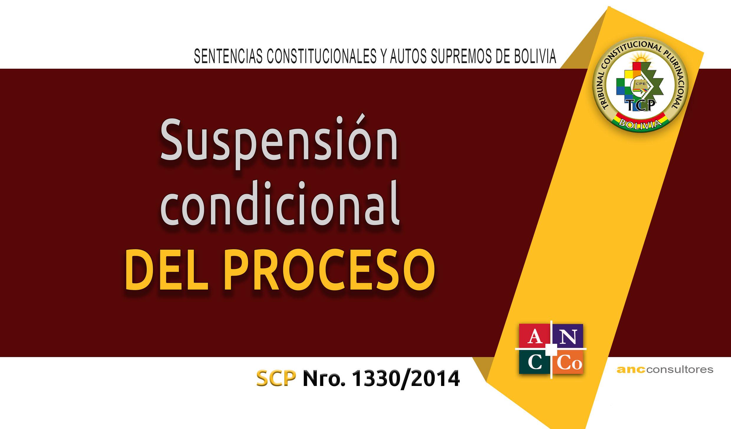 Antecedentes de la suspension condicional del proceso