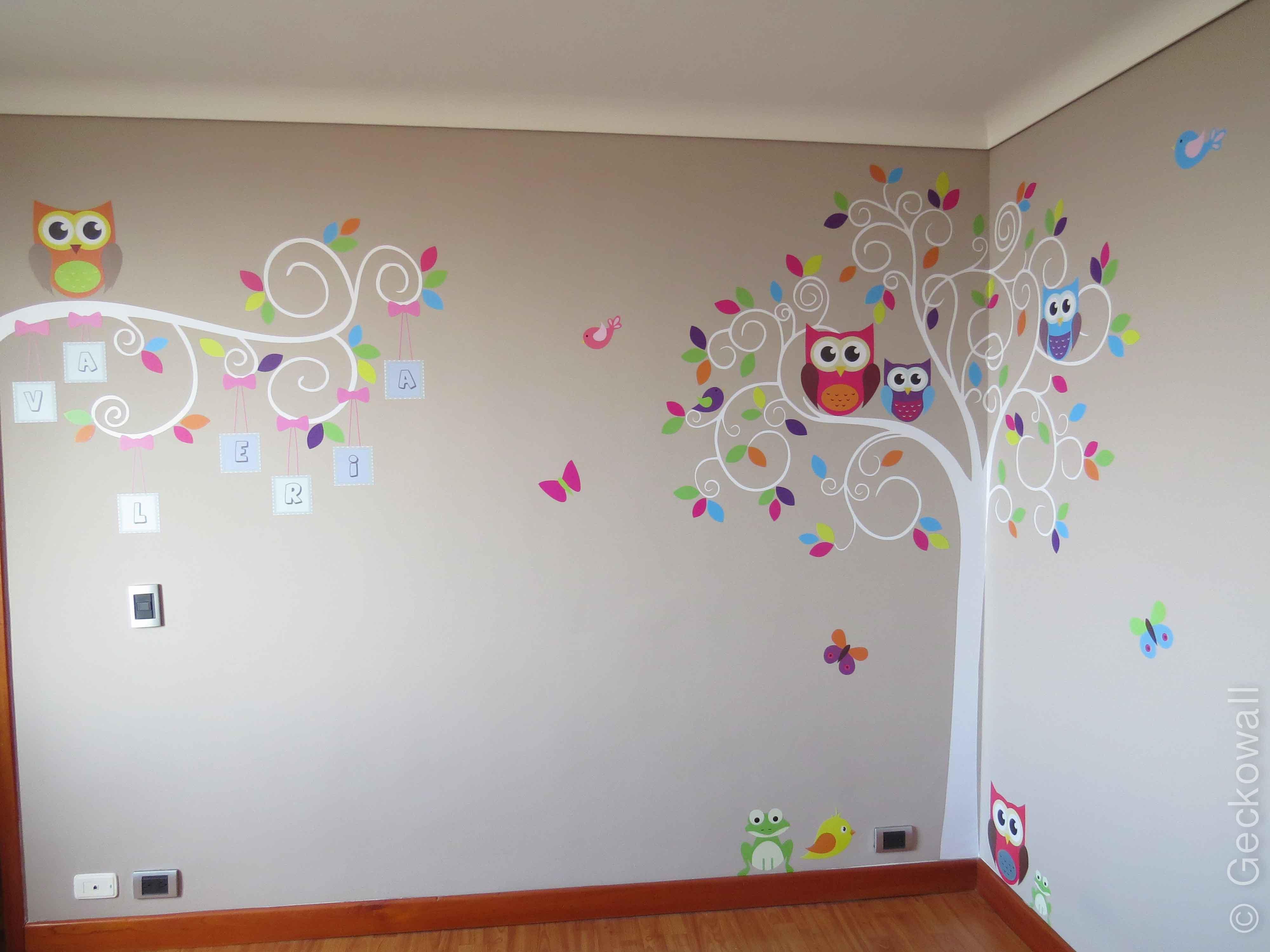 Vinilos decorativos cuadros y murales geckowall for Vinilos decorativos de pared infantiles