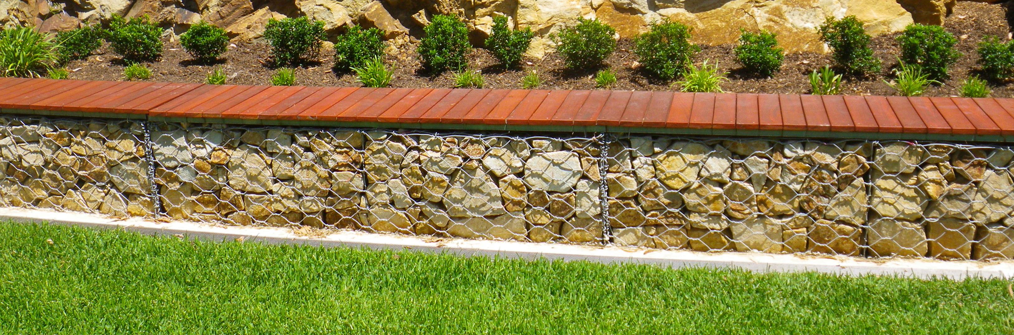 12 gabion landscaping ideas for spring prospect for Gabion landscaping
