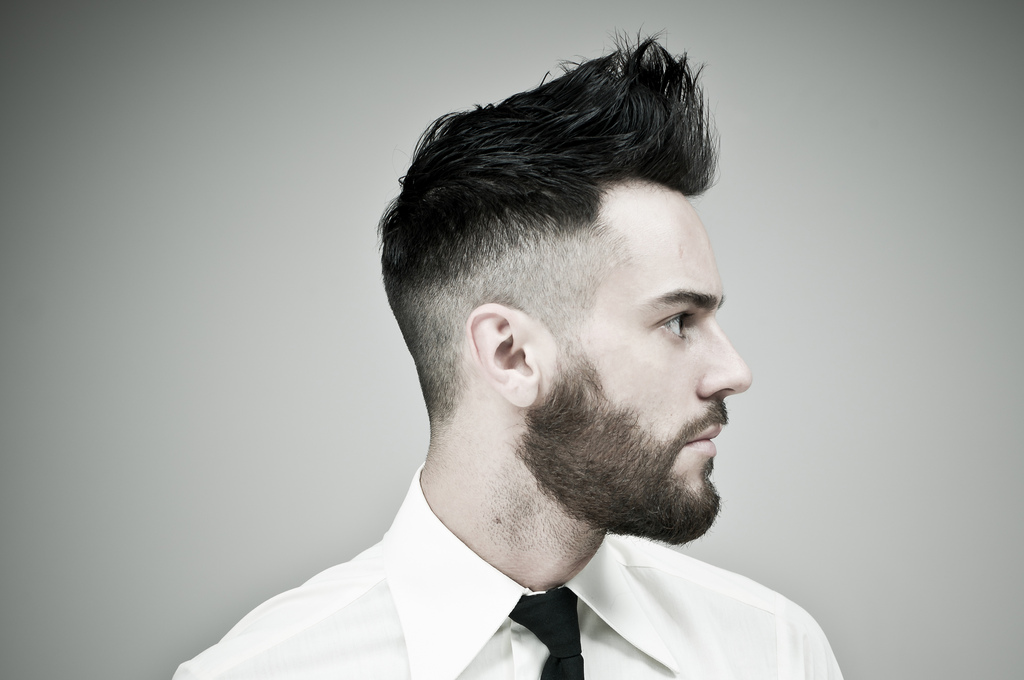 80s men haircut