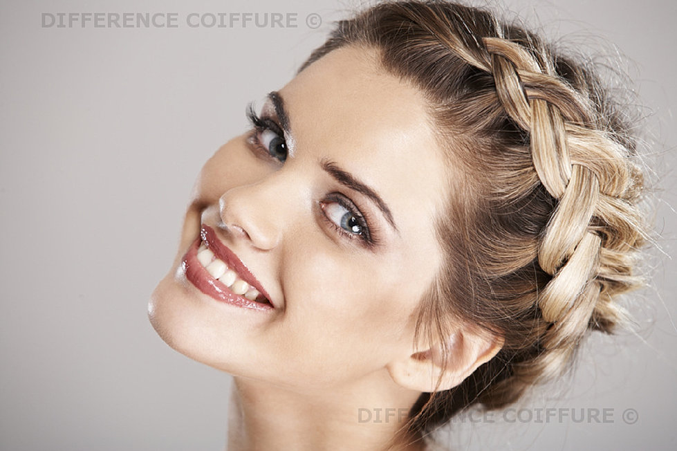 coiffure mariage tie and dye