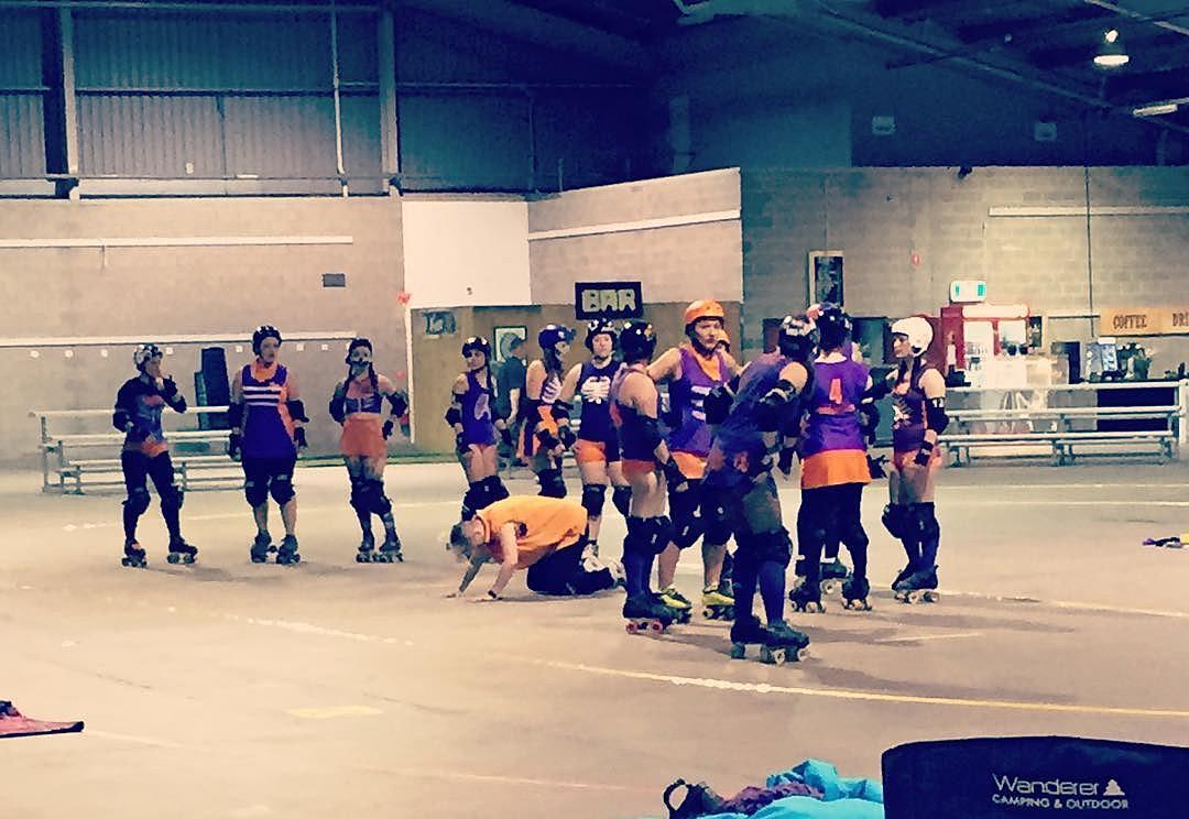 Roller skates adelaide - Massage Fit Adelaide Roller Derby