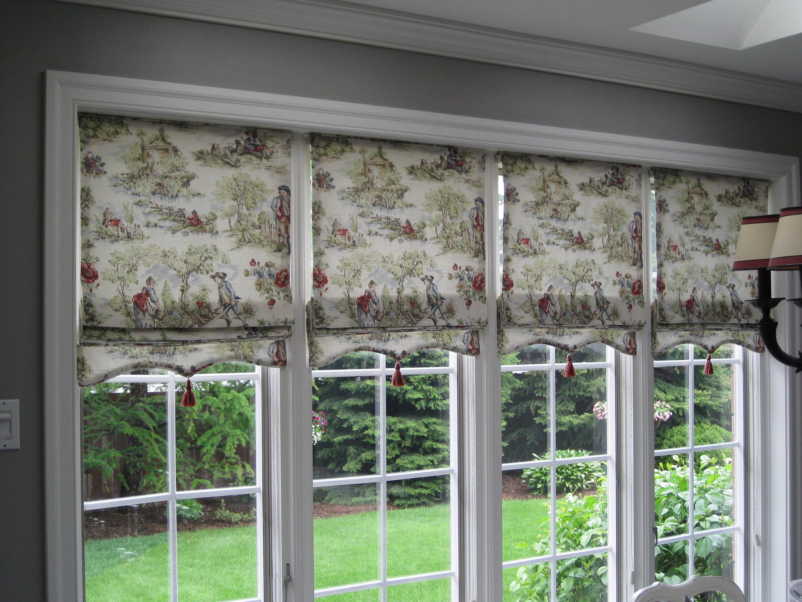 Как подобрать шторы на балконное окно. - сшить шторы своими .