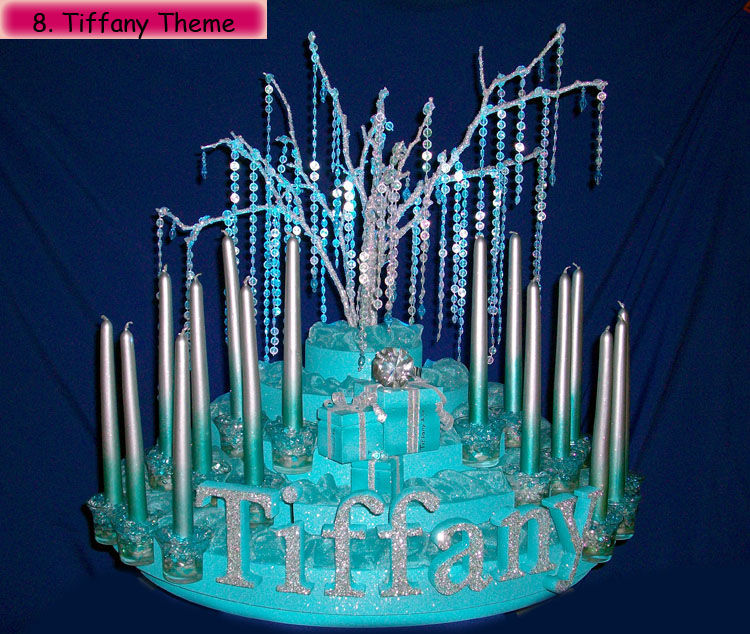 sweet 16 candle stand tiffany & Sweet 16 and Quinceanera Candle Lighting Ceremony Stands azcodes.com