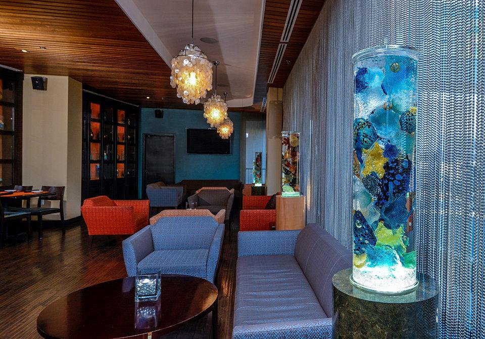 Three Sea Cores in lounge