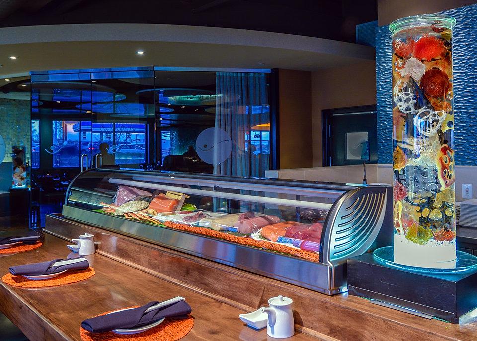 Sea Core on sushi bar