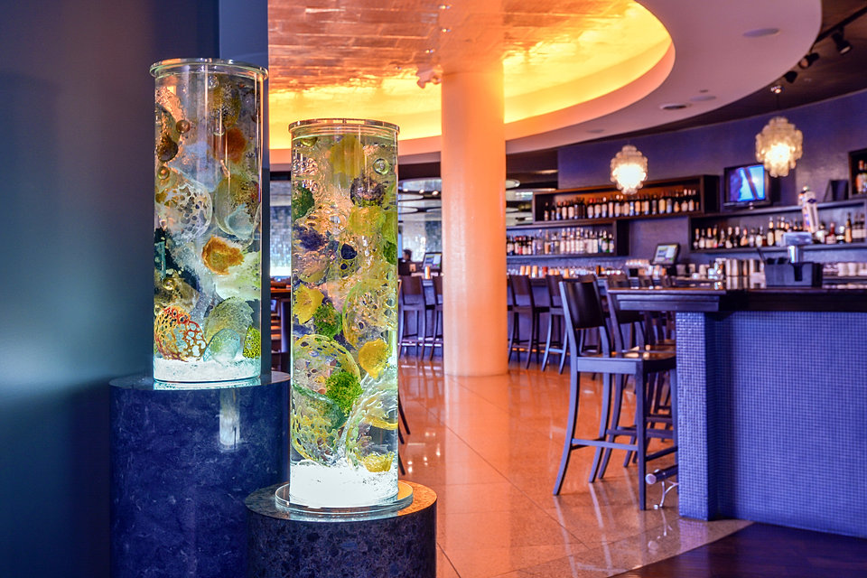 Sea Cores in a bar