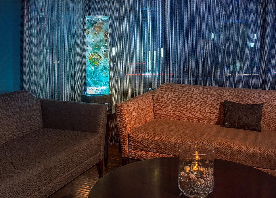Sea Core in urban living room