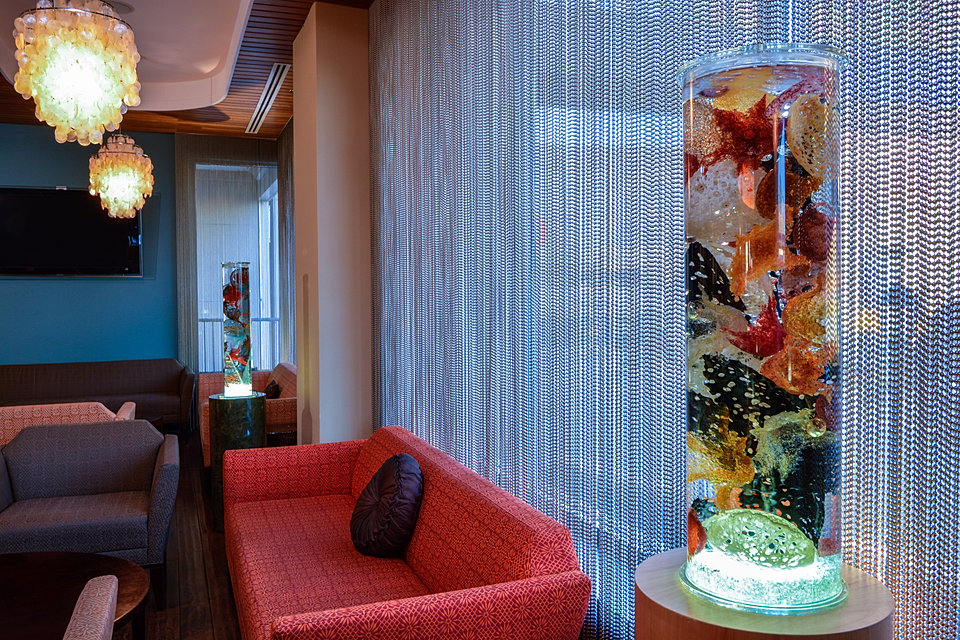Sea Cores in lounge