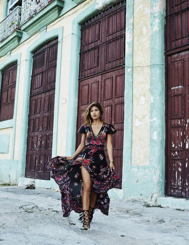 Beautiful Bohemian Maxi Dresses: Black & Pattern | Serene Bohemian ...