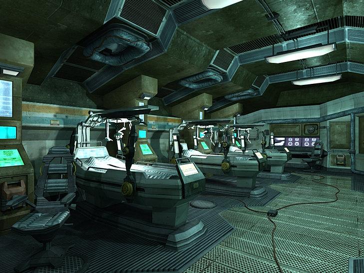 Dan raihert 3d artist portfolio spaceship interior for 11975 sunshine terrace