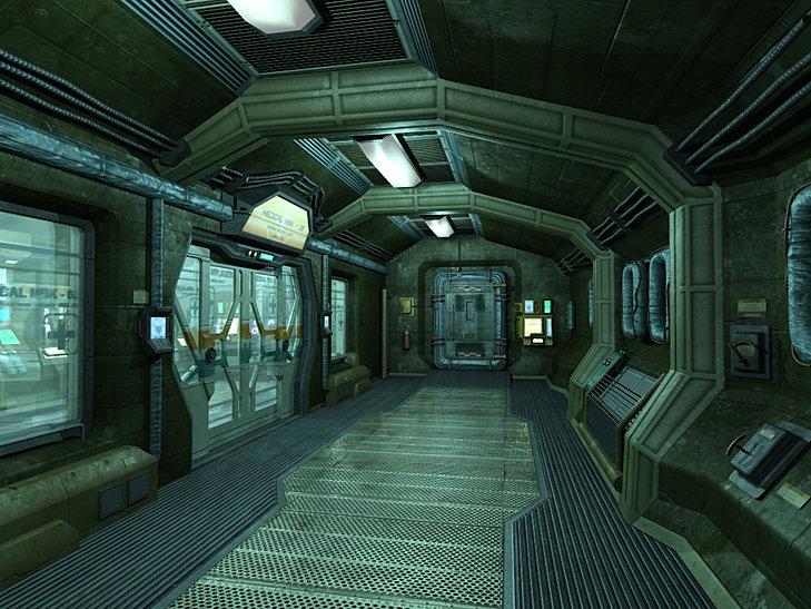 Dan raihert 3d artist portfolio spaceship interior for 11553 sunshine terrace