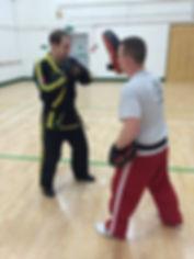 Mr Beattie from Cambridge QKD Martial Arts