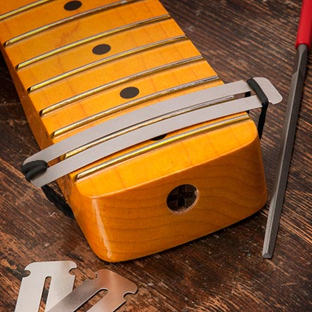 Use THESE instad of taping fingerboard to polish frets