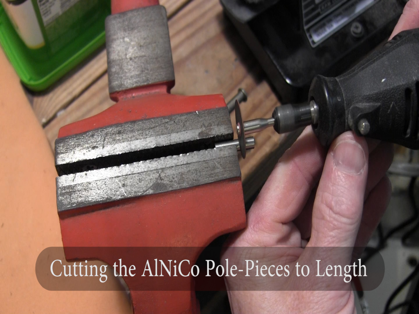 Cutting Alnico Magnets for Kay, harmony, silvertone archtop pickup install