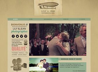 Vidéographe Mariage Template - Un template à l'allure vintage pour représenter l'amour éternel. Parfait pour les photographes et les vidéographes. Ce template vous propose la place nécessaire pour exposer vos images et vidéos qui impressionneront vos clients. Commencez à modifier pour apparaître en ligne!