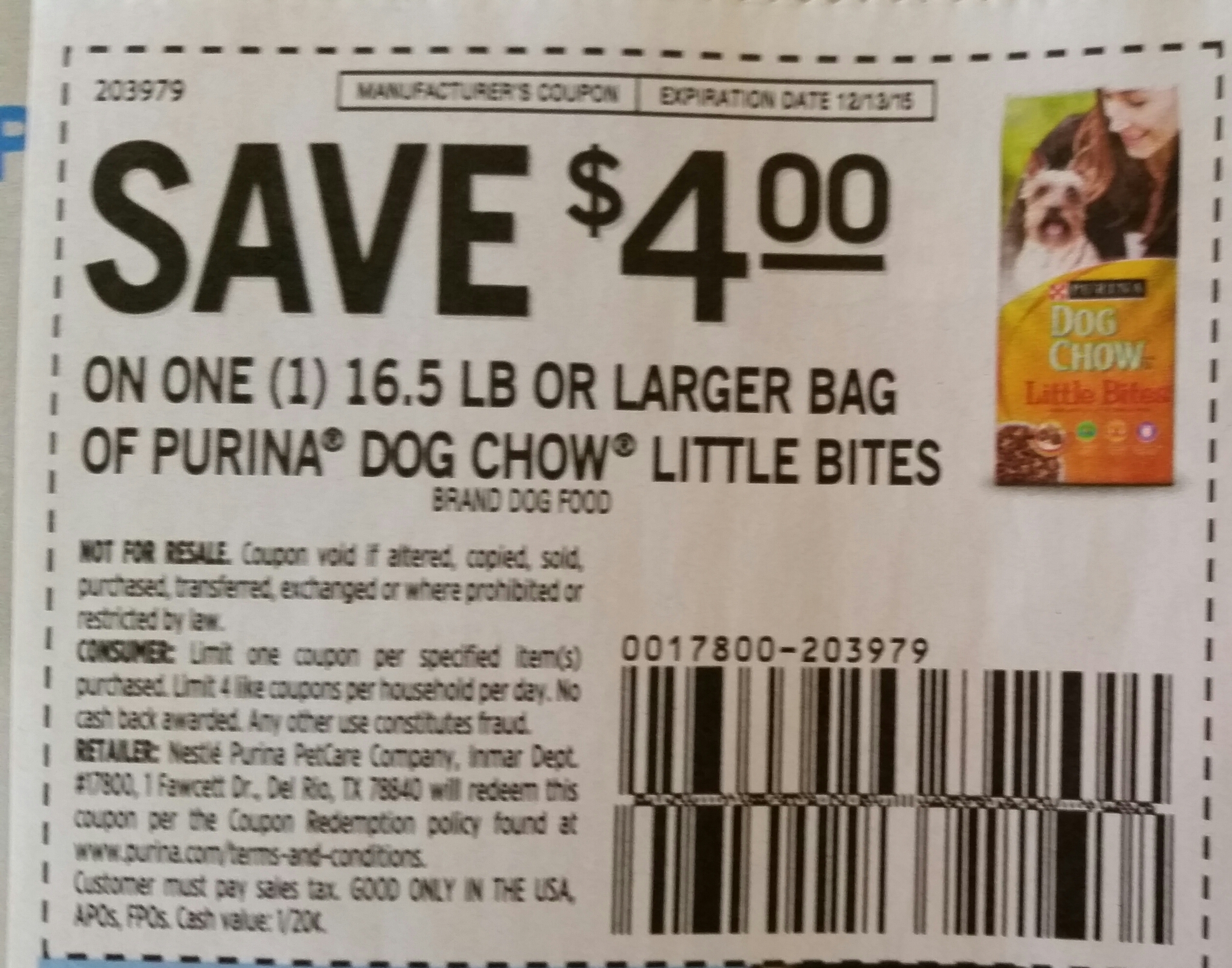 Purina dog chow coupons october 2018