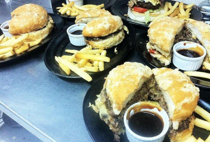 Humongous Burger!