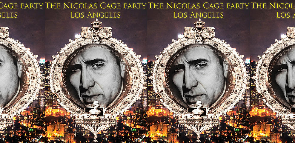 An Art show of all Nicolas Cage work in Los Angeles