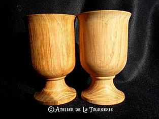 verre a pied medieval
