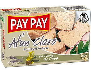PAY PAY ATÚN EN ACEITE DE OLIVA x 111 GR