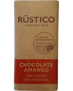 RÚSTICO CHOCOLATE AMARGO 70% CACAO CON N