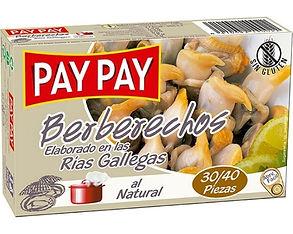 PAY PAY BERBERECHOS AL NATURAL x 115 GR.