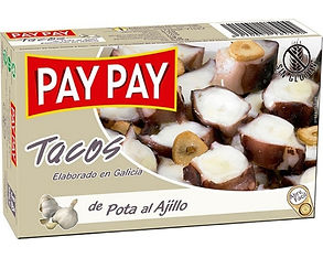 PAY PAY JIBIA PULPO AL AJILLO x 115 GR.j