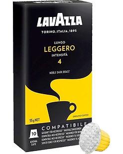 CAFÉ LAVAZZA CÁPSULAS x 10 LUNGO LEGGERO