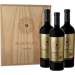 MARIFLOR ARTHUR & THEO ESTUCHE MADERA x3