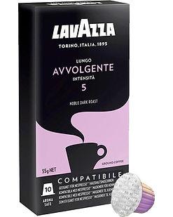 CAFÉ LAVAZZA CÁPSULAS x 10 LUNGO AVVOLGE