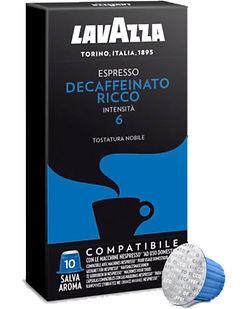 CAFÉ LAVAZZA CÁPSULAS x 10 DECAFEINATTO