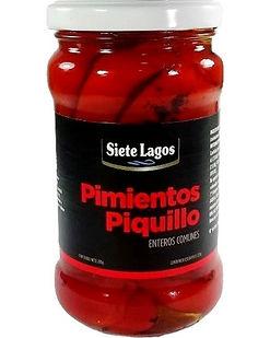PIMIENTOS PIQUILLO SIETE LAGOS x 295 GR