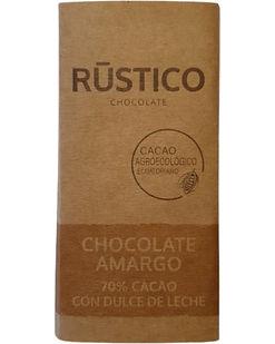 RÚSTICO CHOCOLATE AMARGO 70% CACAO CON D