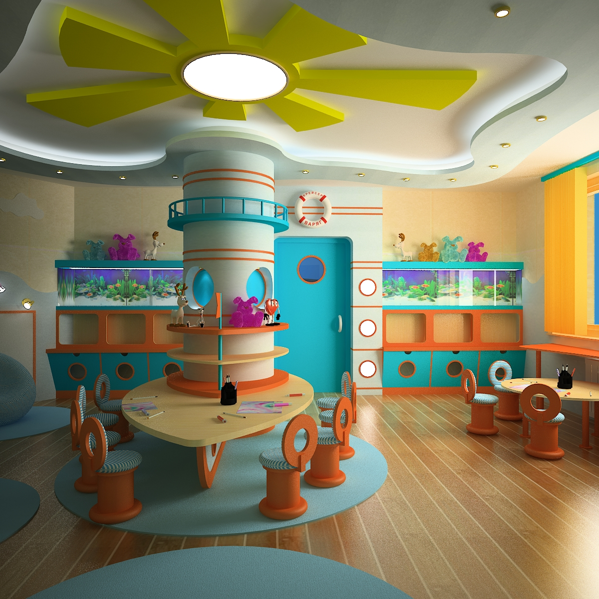 Фото и дизайн в детских садах