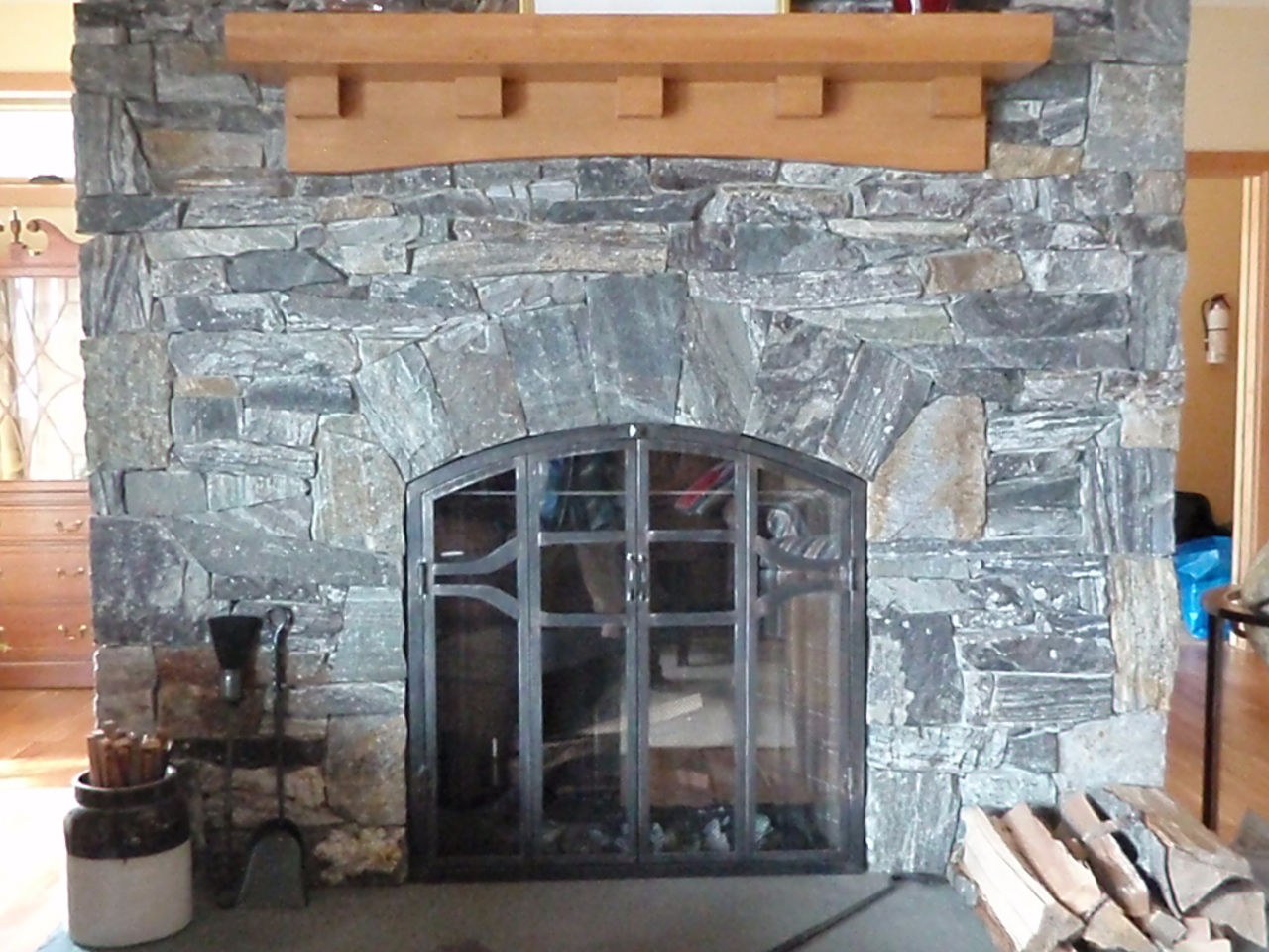Dsd masonry for Rumford fireplace insert