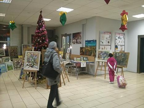 Выставка в ДС Лобня