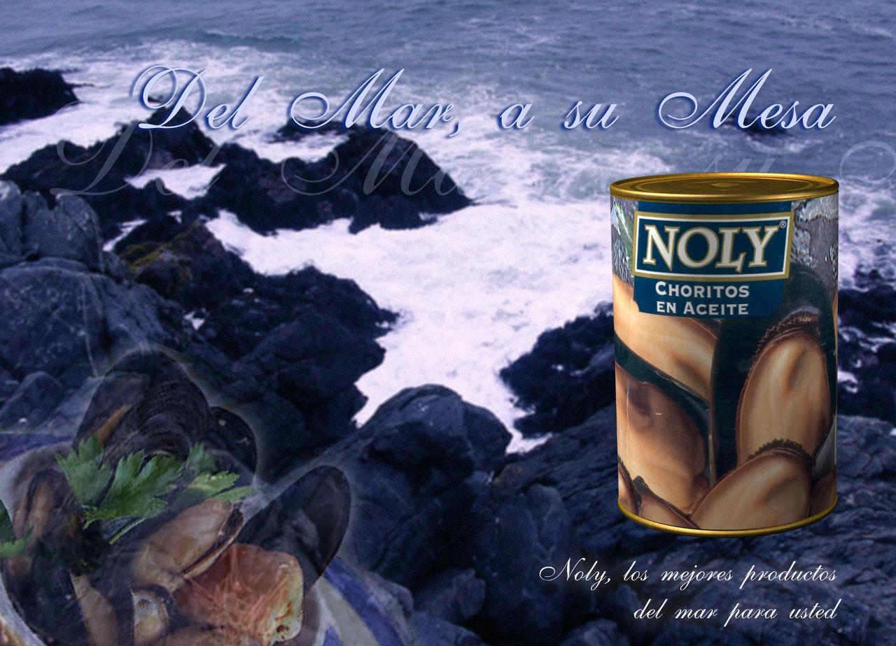 Afiche Noly tarro en 3D