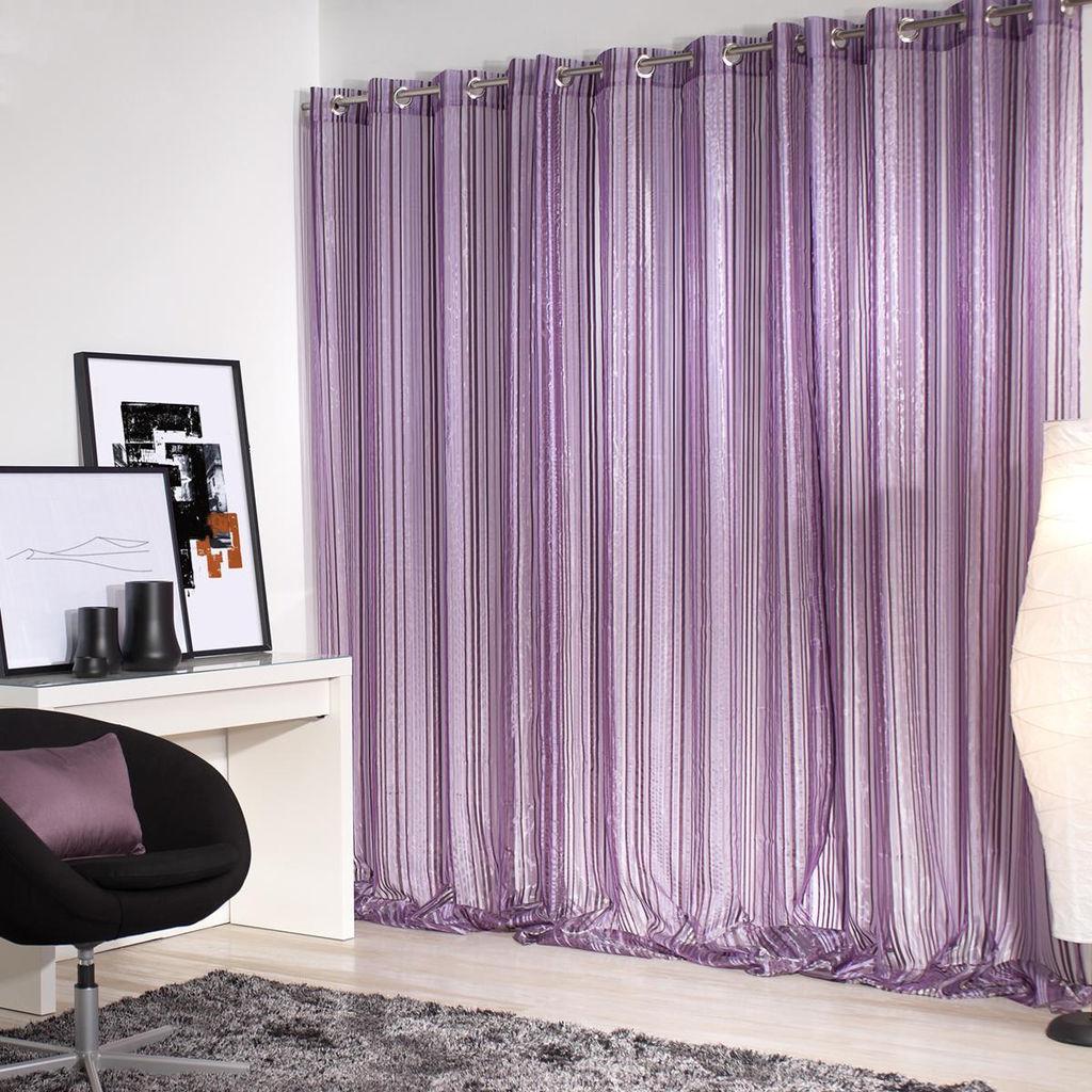 cortinas badaico online morado - Cortinas Moradas