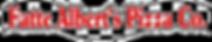 Fatte Albert's Pizza Company Logo