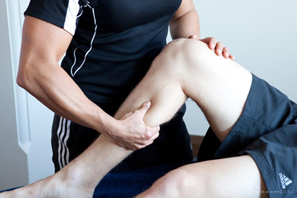massaggio sportivo pre-gara