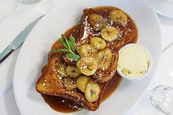 Breakfast Club Banana French Toast