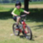 Camper biking